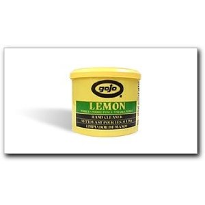 Gojo Industries - Lemon Hand Cleaner with Pumice, 18 oz. plastic cartridge (0912)