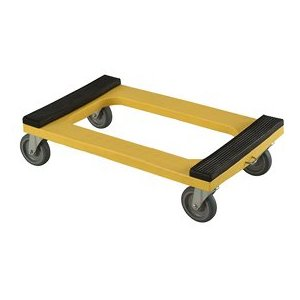 Plastic Dolly With Rubber Padded Deck 5