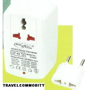 Dual Voltage 100 Watts Travell Converter
