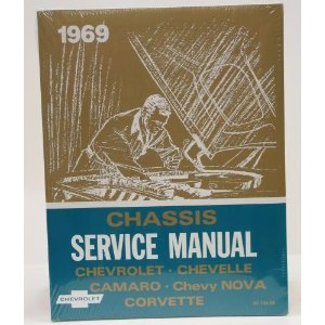1969 Corvette GM Shop and Service Manual