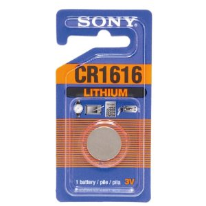 Sony Lithium Coin Battery CR1616