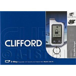 Clifford 50.7X Security alarm + Remote start