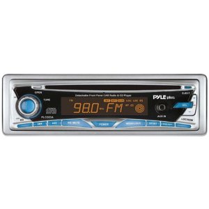 PYLE PLCD23A AM/FM-MPX Manual Tune Radio CD Player with Detachable Face