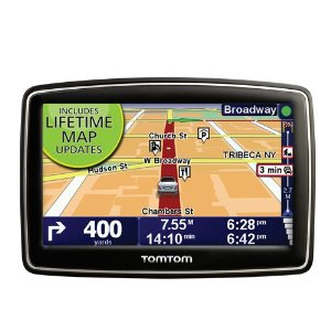 TomTom XXL 540M (Lifetime Maps Edition) 5-Inch Widescreen Portable GPS Navigator