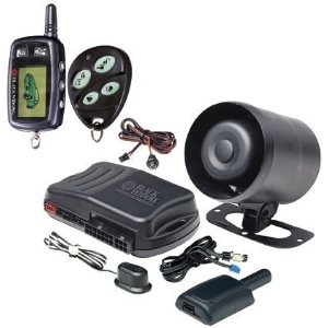 Black Widow BWX5 2-Way Vehicle Security System with Keyless Entry