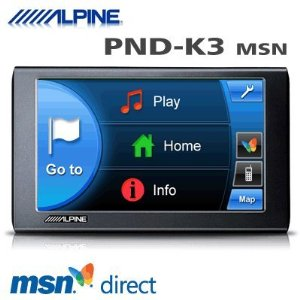 Alpine PND-K3msn - GPS receiver - automotive