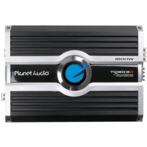 Planet Audio TQ1601D 1600 Watts 1-OHM Stable Max Power Class D Monoblock Power Amplifier
