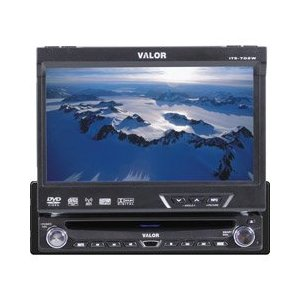 Valor ITS-702W 7-Inch In-Dash DVD Monitor with Camera Input
