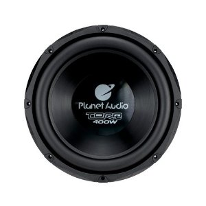 Planet Audio TQ120DVC 12-Inch Poly Injection Cone 4-OHM Dual Voice Coils DVC Subwoofer (Black)