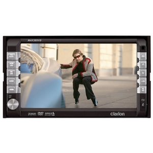 Clarion MAX385VD 6.5-Inch 2-DIN Multimedia Station with Touch Panel Control iPod Ready
