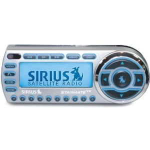 SIRIUS Starmate Replay SIRIUS satellite radio with car accessories