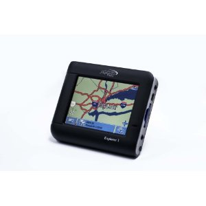 Maxx Digital PN3000 Explorer I Portable GPS System/ TMC Capable/  Personal Media Player for MP3 & Photo Viewer