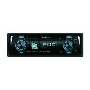 Fusion CA-IP500 AM FM iPod docking 4x50Watt Receiver with SRS, WOW, OLED Display