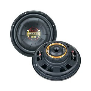 BOSS D120FD 12-Inch Low Profile Poly Injection Cone Dual Voice Coil Subwoofer
