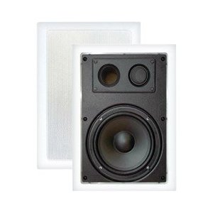 Pyle Home PDIW67 6.5-Inch Two-Way In-Wall Enclosed Speaker System with Directional Tweeter