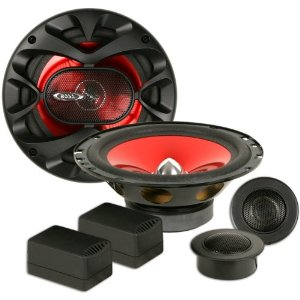 Boss CH6CK 6-1/2-Inch Two-Way Component Speaker System