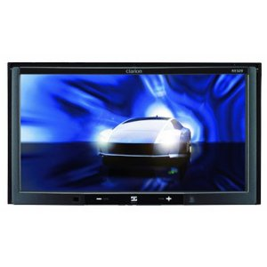 Clarion NX509 7-Inch 2-DIN Mulitmedia Station with Touch Panel Control, USB and Built-In Navi System