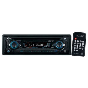 Legacy LCD91M AM/FM Radio CD/VCD/MP3 Player with Detachable Face