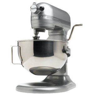 KitchenAid KV25G0XMC, metallic chrome, professional 5 plus.