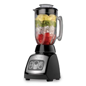 Black & Decker BLC18750DMB Cyclone 18-Speed Blender with 48-Ounce Glass Jar, Black