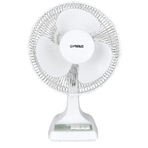 Optimus F-1210 12-Inch Oscillating 3-Speed Table Fan