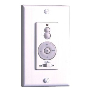 Minka-Aire WC212 3-Speed Fan Forward/Reverse & Up/Down Light Dimmer Wall Control