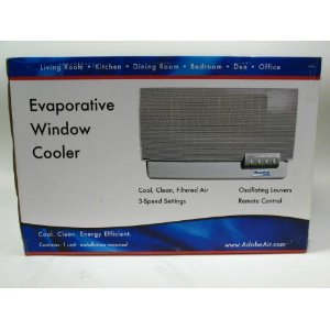 MasterCool W15 Evaporative (Swamp) Air Cooler (Window-Mount)