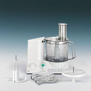 Braun 220 Volts Heavy Duty Food Processor - WILL NOT WORK IN THE USA