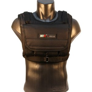MiR MV 20LBS Adjustable Weighted Vest (WEIGHTS INCLUDED)