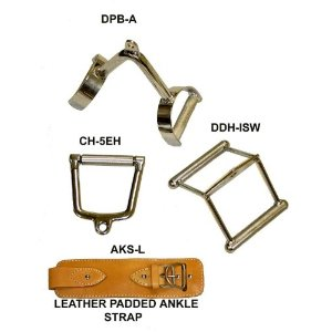 Single Double Cable Handle & Ankle Strap
