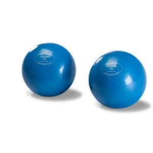 3 lb, Soft Weighted Mini Toning Ball, Set of 2
