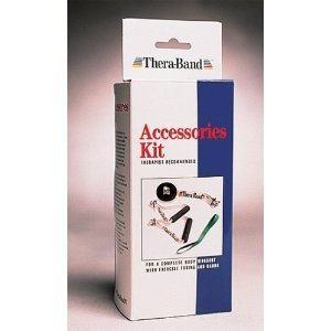 Theraband Accessories Kit Includes Handles, Assist device and Door Anchor
