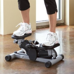Low-Impact Aerobic Side Stepper