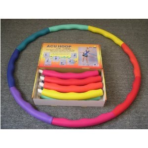 Hula hoop innovation for workout-- Acu Hoop 3 lb. Boxed