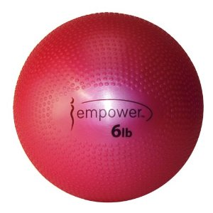 Empower 6-Pound Soft Medicine Ball with DVD