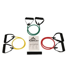 NEW Set of 3 B.M.P. Resistance Bands Great for Any Home Workout Exercise Including Physical Therapy