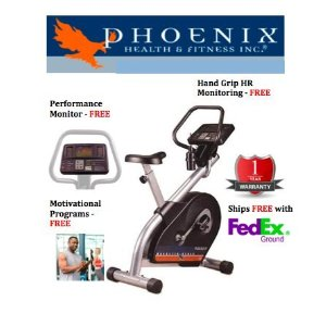 Phoenix 98665 Bio Cycle II Upright Exercise Bike