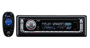 Jvc kwxg700 car double din cd usb receiver 200w mp3 wma