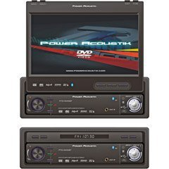 Power Acoustik PTID-8940N 7-Inch Motorized Flip-Up Screen AM/FM DVD Receiver