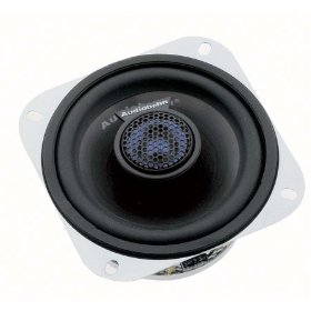 AudioBahn AS 40Q - Car speaker - 80 Watt - 2-way - coaxial - 4