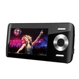 Coby 8 GB Flash MP3 Player with 2.8-Inch Color LCD and FM (Black)