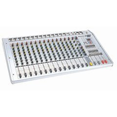 16-CHANNEL 400-WATT Powered Console Mixer