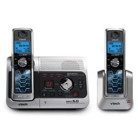 Vtech 6043 DECT 6.0 Cordless Phone with Digital Answering Machine & 1 Extra Handset and Charger