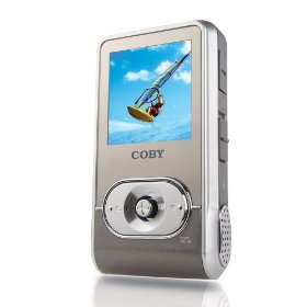 COBY MP-C758 MP3 Player w/512 MB Flash Memory & Built In Stereo Speakers