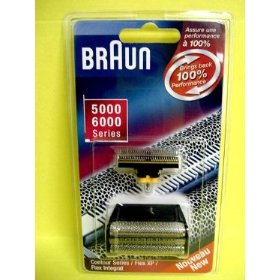 BRAUN FOIL & CUTTER FITS ALL 5000/6000SERIES BLK