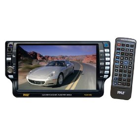 PYLE PLD61MU 6.5-Inch TFT Touch Screen DVD/VCD/CD/MP3/CD-R/USB/AM/FM/RDS Receiver