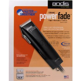 Andis Ceramic PowerFade Adjustable Blade Clipper - 23125
