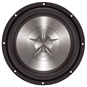 Clarion SW1051 10-Inch Single 4 Ohm Voice Coil Subwoofer