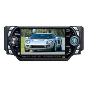 Boss BV8220 5-Inch In-Dash Widescreen Touchscreen TFT Monitor/DVD/MP3/CD Receiver