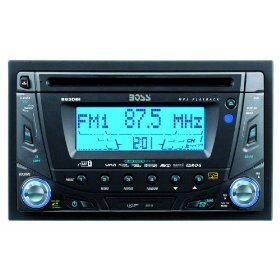 Boss 865DBI Double DIN MP3/CD Receiver with Internal iPod Docking Station